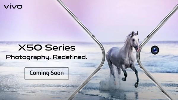 Vivo X50 Series Spotted On Flipkart