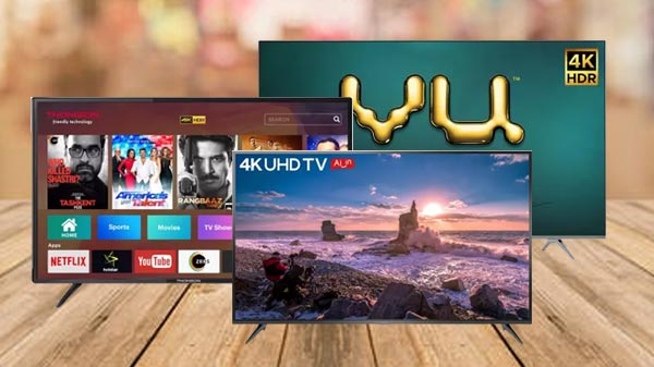 50 Inch 4K Screen Smart TVs To Buy In India Under Rs. 30,000