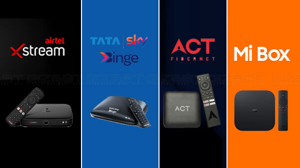 Airtel Xstream Vs ACT Stream TV Vs Tata Sky Binge+ Vs Mi Box: Which One Should You Buy?