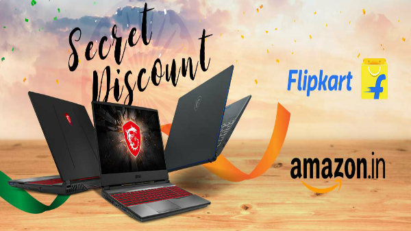 MSI unveils Exciting Independence Day Sale Offers On Flipkart And Amazon On Best Laptops