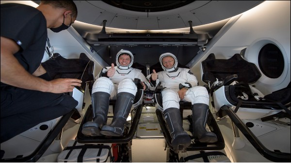 NASA, SpaceX Fully Complete First Astronaut Mission