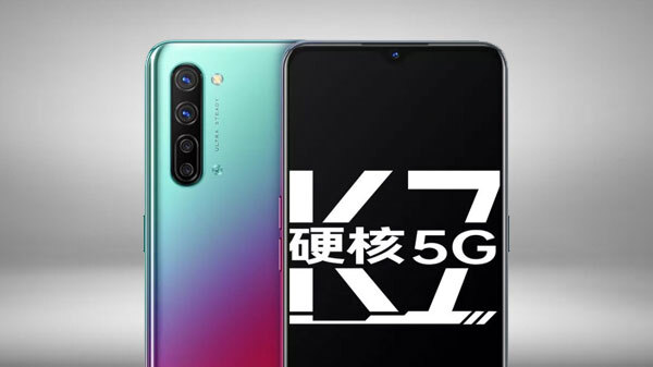 Oppo K7 5G With Quad Rear Camera Setup Launched