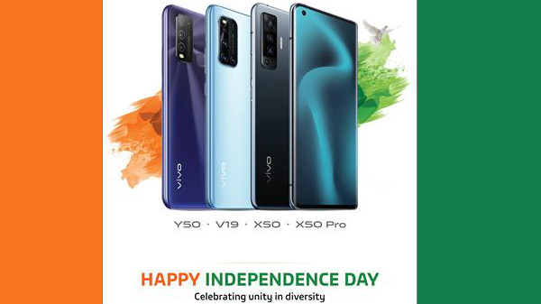 Vivo Independence Day 2020 Special Offers – Last Chance To Grab X50 Series, V19 and Y50 At Discounte