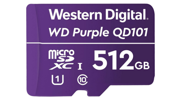WD Purple SC QD101 Ultra Endurance MicroSD Launched