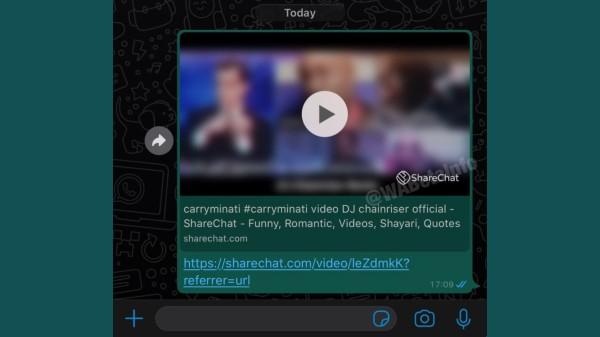 WhatsApp To Integrate ShareChat Videos