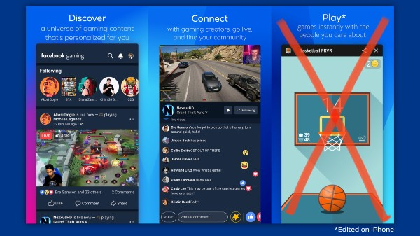 Facebook Games Come To iOS But Skips Instant Gaming Feature