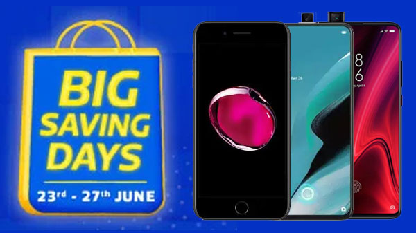 Flipkart Big Saving Days Sale (Aug 6th - 10th): Offers To Avail On Smartphones