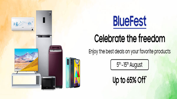 Samsung BlueFest Sale 2020: Best Offers and Discounts on Smartphones, Smart Watch, Tablets And More