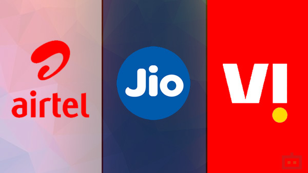 Airtel Vs Reliance Jio Vs Vodafone-Idea