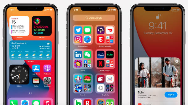 Apple iOS 14, iPadOS 14, watchOS 7 Updates Releasing Today