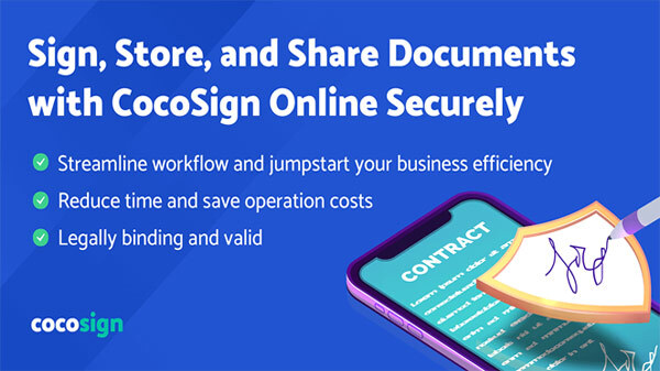 eSign PDF Documents Online With Free Electronic Signature