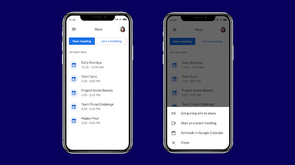 Google Meet App Update Brings New Look Similar To Gmail