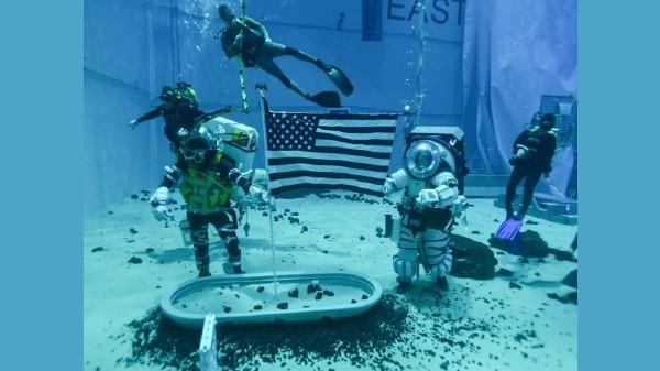 NASA Artemis Mission: Astronauts Training For Moonwalk Underwater - Gizbot