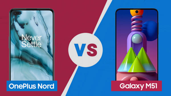 OnePlus Nord Vs Samsung Galaxy M51: Is The Monster Worth The Hype?