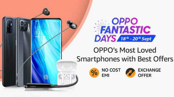 Amazon Oppo Fantastic Day 2020: Discount Offers On Oppo Smartphones