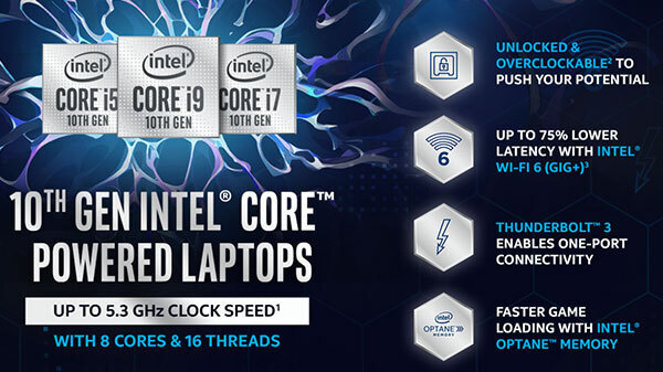 Experience Game-Changing Performance With Intel Core Gaming Laptops