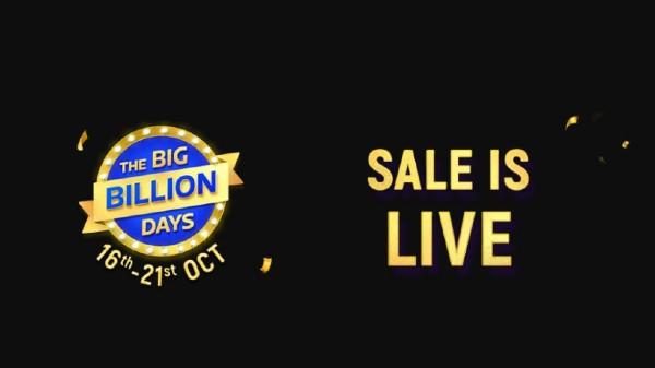 Flipkart Big Billion Days Sale Goes Live