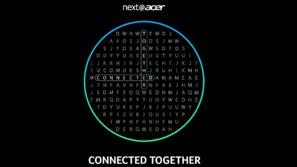 Next@Acer Connected Together 2020 Event Slated For October 21st