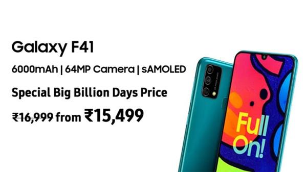 Samsung Galaxy F41 Is Here To Rule Mid Range Segment