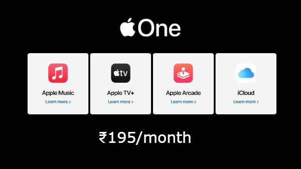 Apple One To Go Live Soon: Here Is How Much It Costs In India