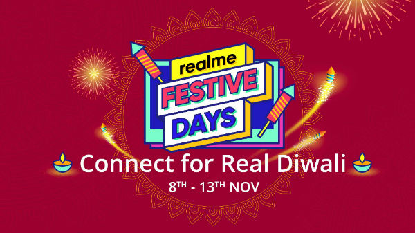 Realme Festive Days: Diwali Discount Sale On Realme Smartphones