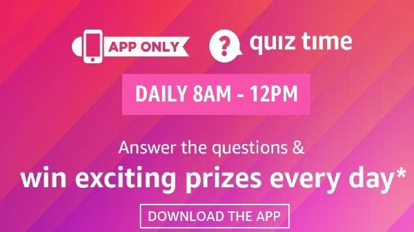Amazon Quiz Answers For November 28: Winners Get Amazon Pay Rewards
