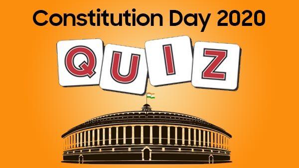 Constitution Day Quiz 2020