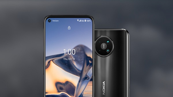 Nokia 8 V 5G UW With Snapdragon 765G Goes Officia