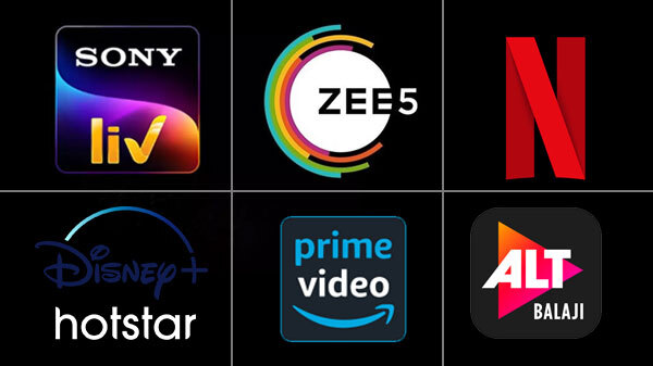 List Of Popular OTT Apps In India - Gizbot News
