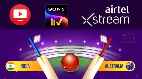 How To Watch Australia Vs India Cricket Series