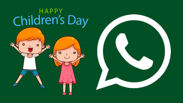 How To Download And Send Children's Day WhatsApp Stickers