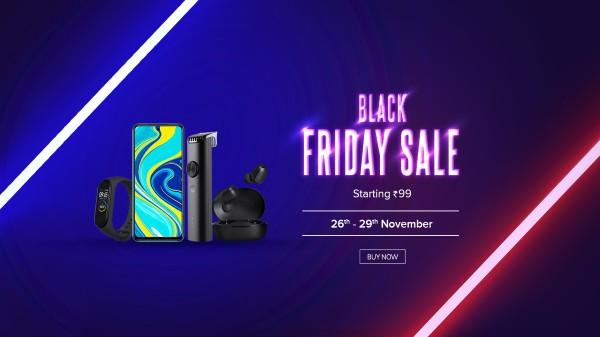 Xiaomi Black Friday Sale In India On Redmi Smartphones