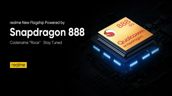 Realme Race To Be Powered By Qualcomm Snapdragon 888 5G SoC
