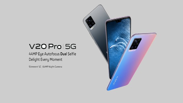 Vivo V20 Pro 5G Launched In India For Under Rs. 30K