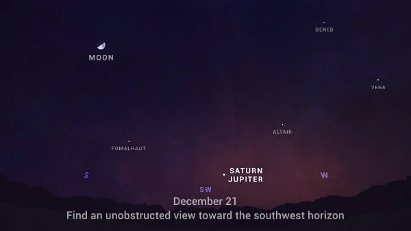 Jupiter And Saturn Align Tonight For Celestial Event