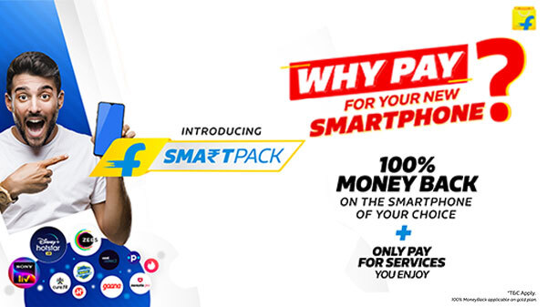 Flipkart SmartPack, The Smartest Way To Buy Smartphones In 2021 With 100% Moneyback