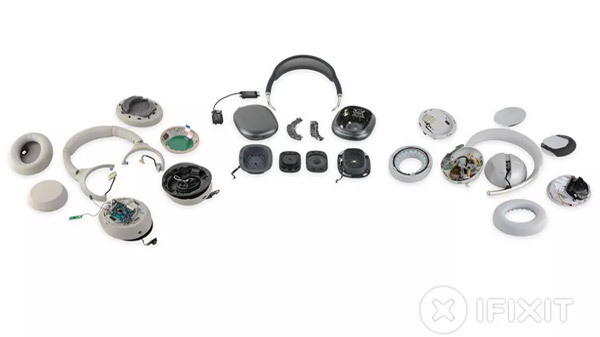 AirPods Max iFixit Teardown; Bose, Sony Headphones Seem 'Like Toys'