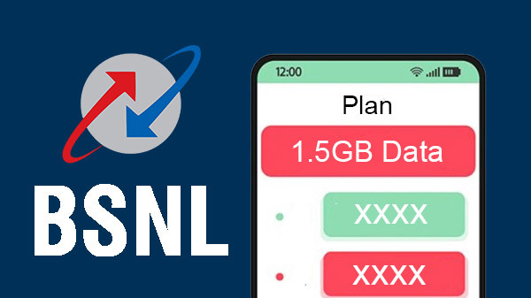 BSNL Launches Rs. 485 Plan; Offering 1.5GB Data Per Day For 90 Days