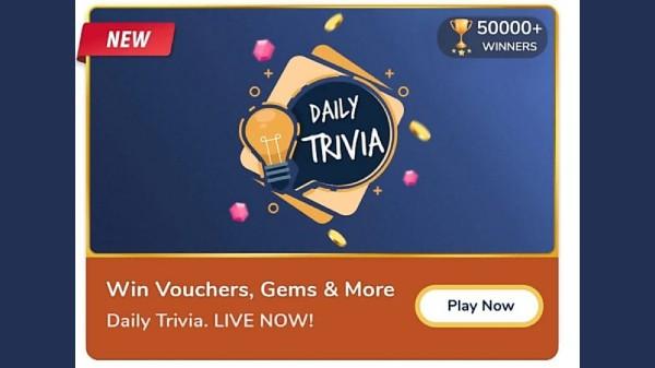 Flipkart Daily Trivia Quiz Answers For January 15