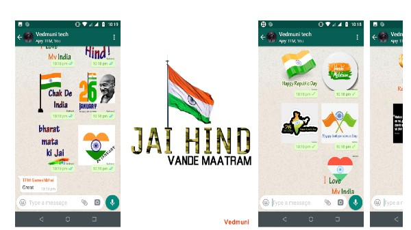 How To Send WhatsApp Stickers For Republic Day On Android, iOS