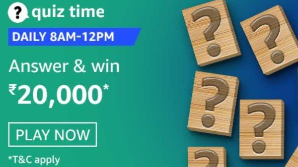 Amazon Quiz Contest Answers January 22