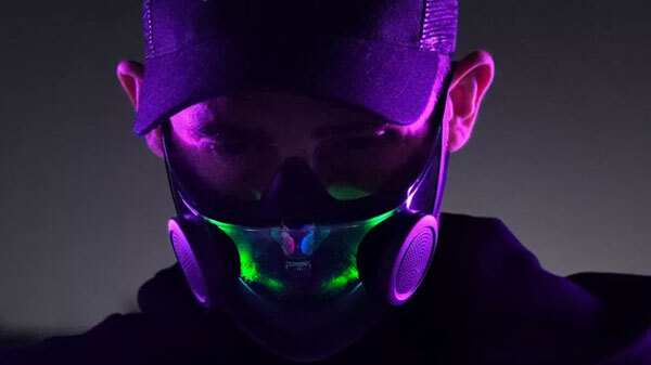 Razer N95 Mask With RGB, Voice Projection; Blend Of Style And Safety