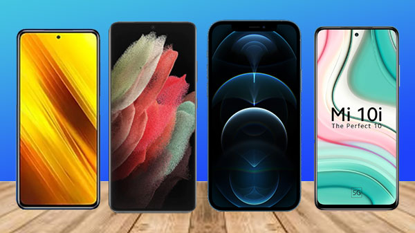 Last Week Most trending Smartphones: iPhone 12 Pro Max, Galaxy S21 5G, Galaxy A12, Mi 10i 5G And More