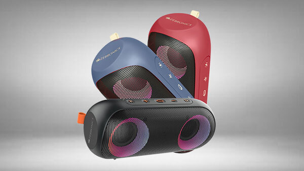 Zebronics Zeb-Music Bomb X With IPX7 Rating Launched