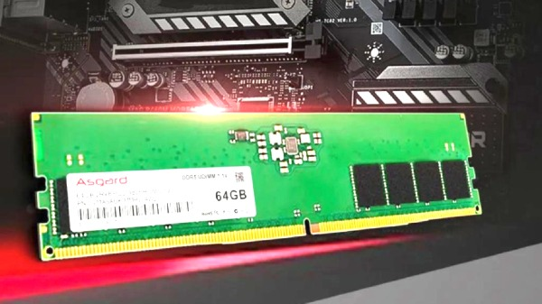 Asgard DDR5 UDIMM Memory Announced For 12th-generation Intel CPUs