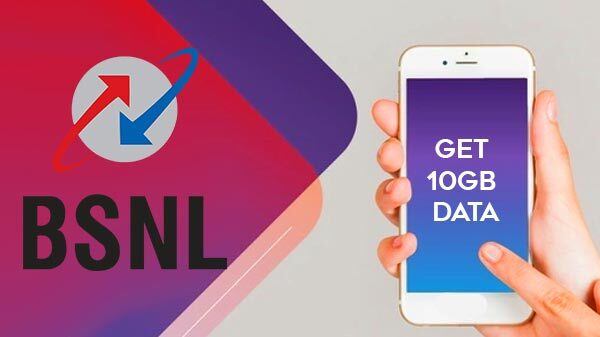 How To Get 10GB Data For 20 Days From BSNL