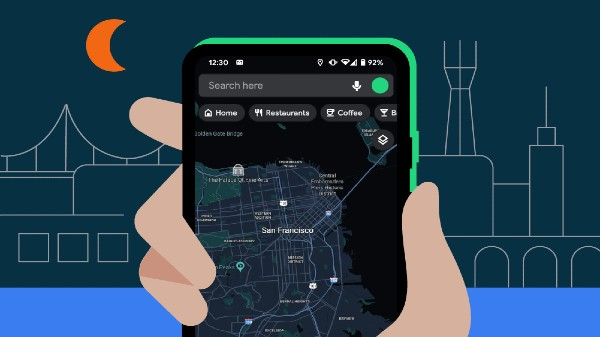 Google Maps For Android Gets Dark Mode
