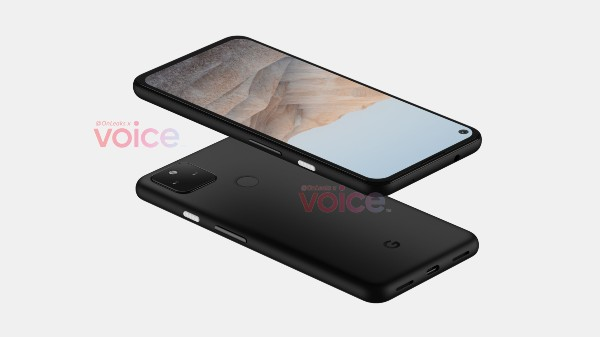 Google Pixel 5a Borrows Design Elements From Pixel 5, 4a