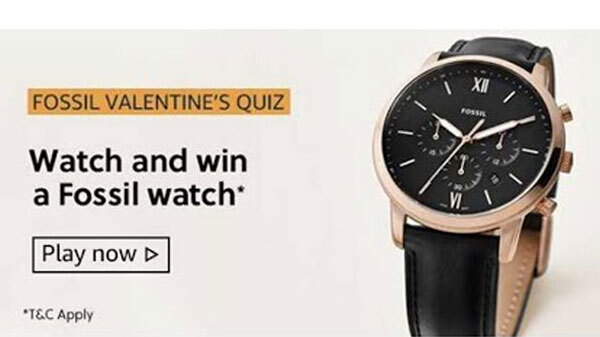 Fossil Valentine's Quiz Answers