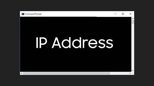 How To Find IP Address Using CMD